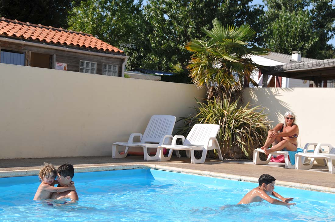 camping veillon plage piscine