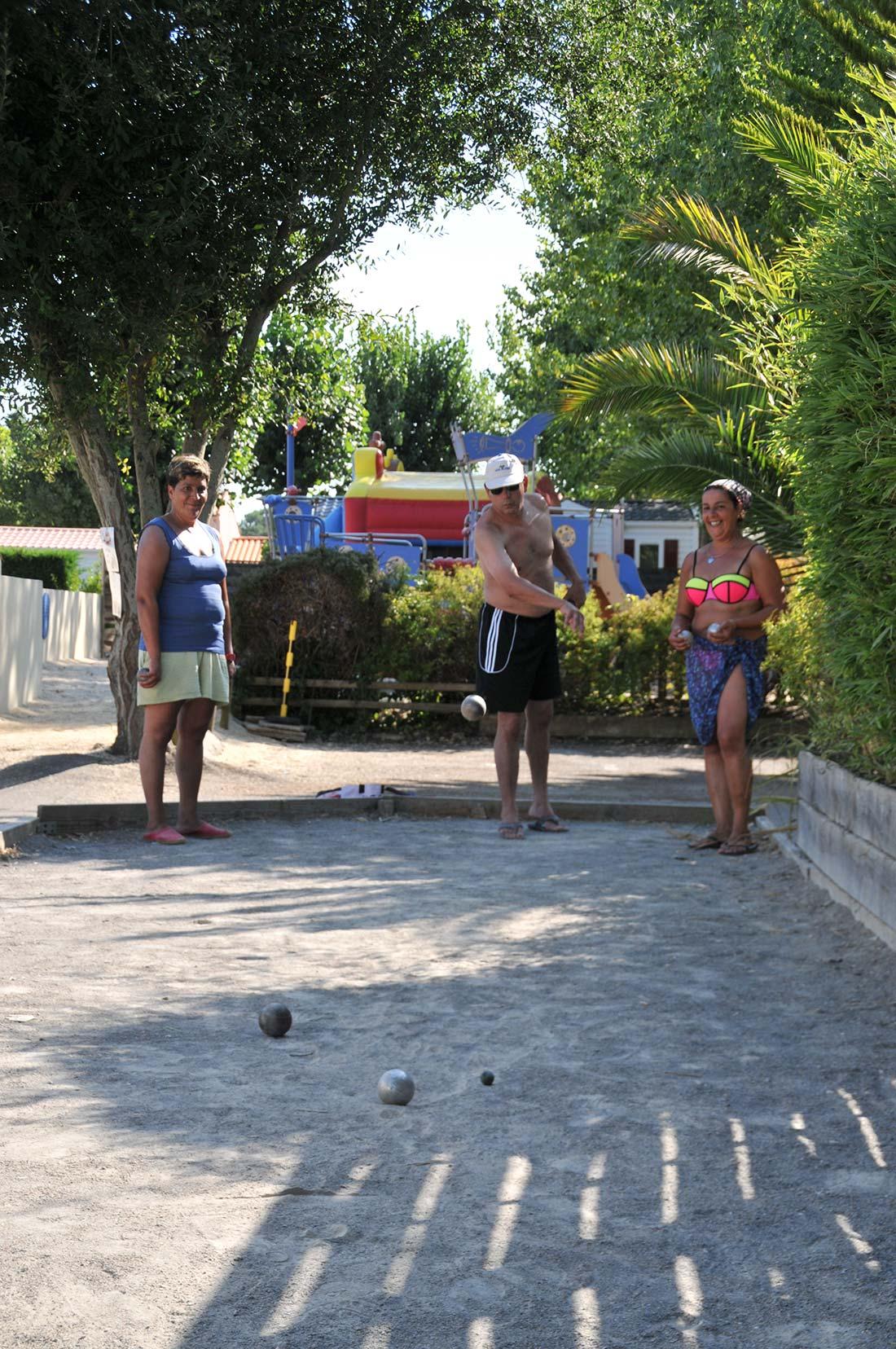 activités du camping à Talmont