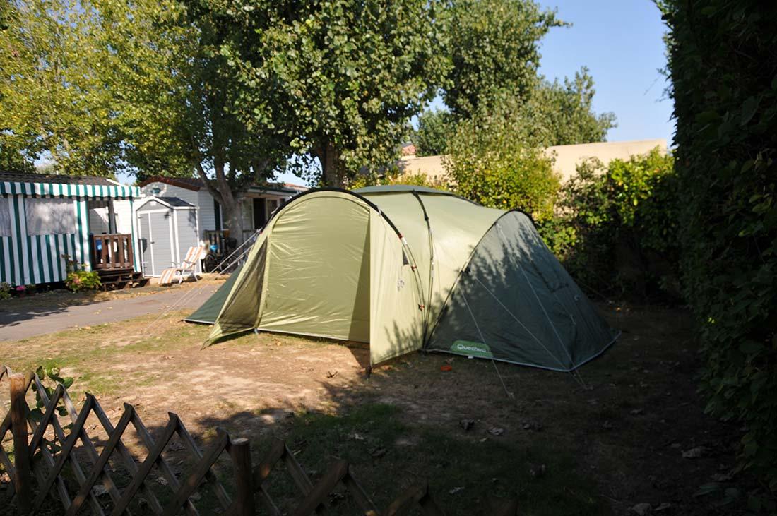 emplacement tente talmont st Hilaire
