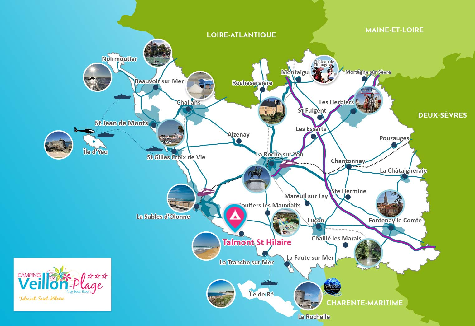 carte vendee