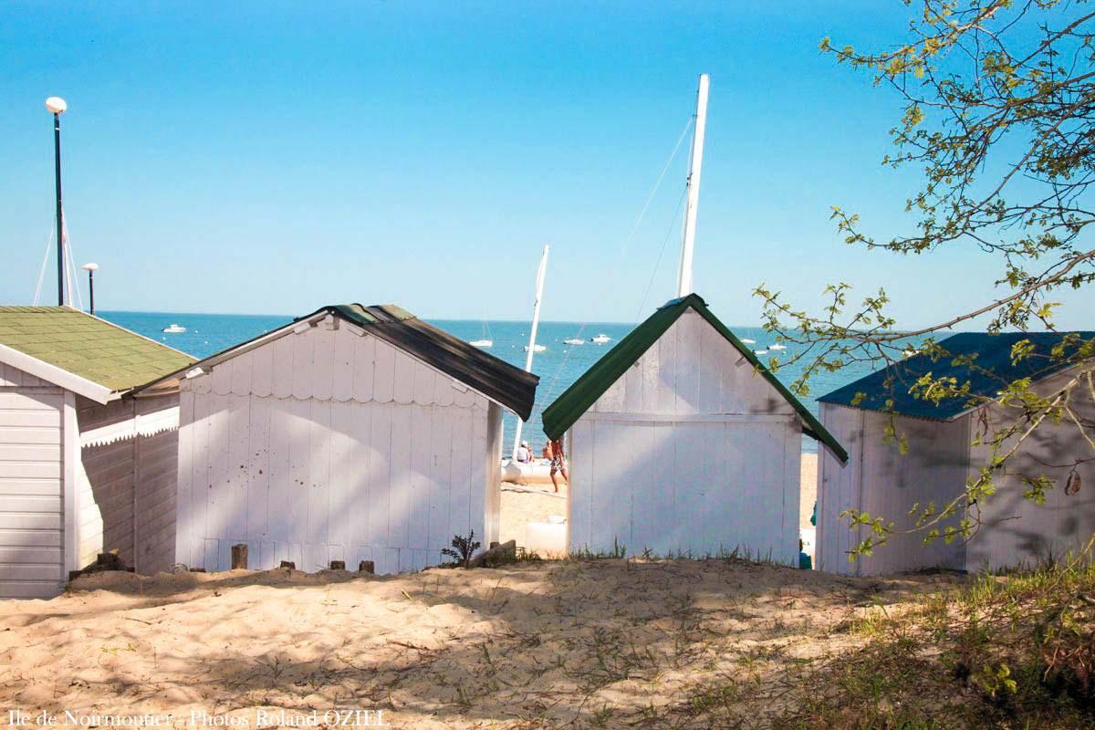 Noirmoutier cabanes de plage