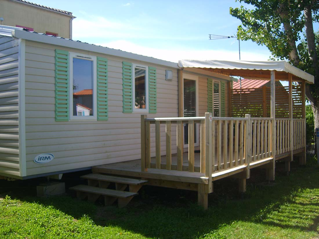 mobilhome famille