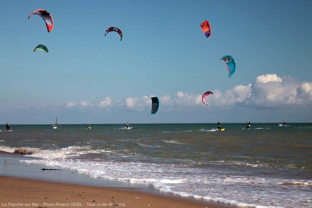 kite surf Vendée les amoureux de la glisse