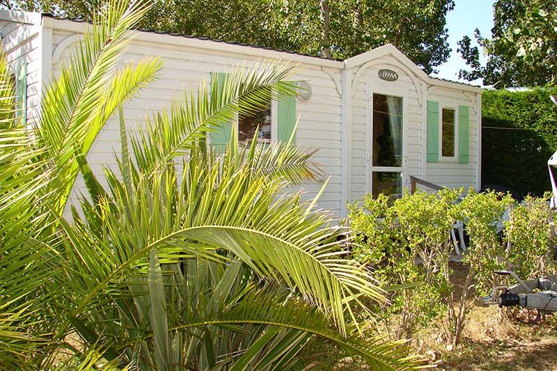 les hébergements du camping 3 étoiles