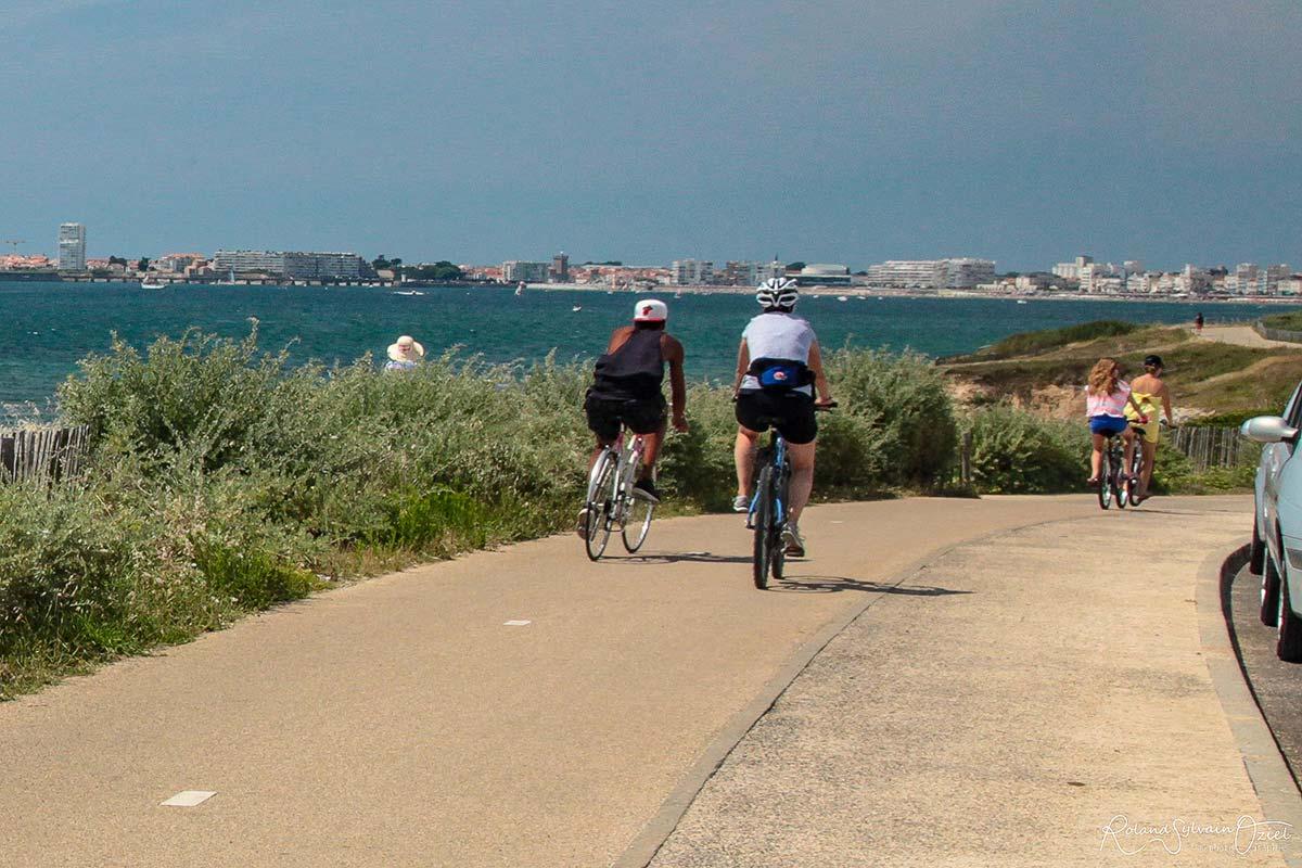 vélo piste cyclable Vendée